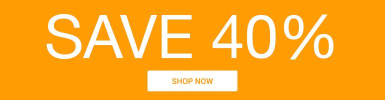 Annual Sale! Save 40%