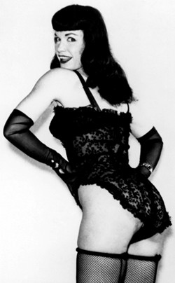 Bettie Page: Posed for Our Sins