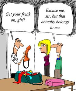 TSA to Blogger: 'Get Your Freak On, Girl'
