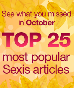 Top 25 Most Popular SexIs Articles in October