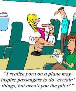 Ryanair CEO Hints at In-Flight Porn Options