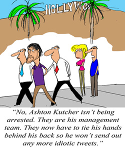 Kutcher Will No Longer Tweet First and Think Later