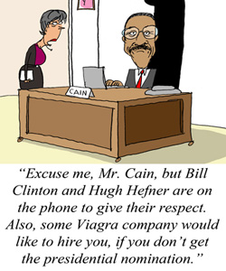 Herman Cain: This Time, It's Not Sexual Harassment, Anyway ...
