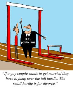 "D.C. to Introduce ""Gay Divorcee"" Bill"