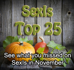 Top 25 Most Popular Articles on SexIs November 2012