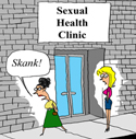 Shush! Don't Tell Anyone About the Sexual Health Clinic!
