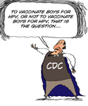 CDC Mulls Recommending HPV Vaccine for Boys