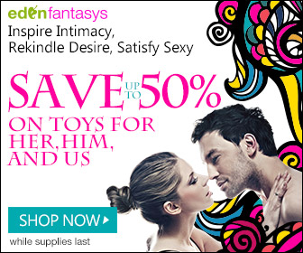 Save up to 50% on Toys for Women, Men, and Couples