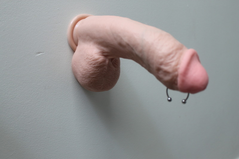 Shall agree Dildo stuck on wall