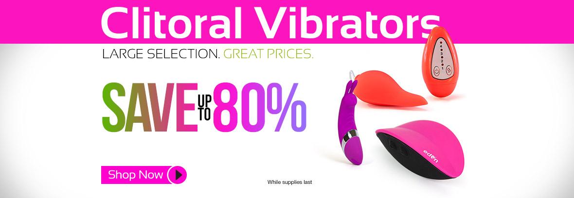 Clitoral Stimulators on Sale