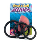 Cock & ball rubber rings
