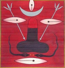 Sacred Lingam Of Shiva