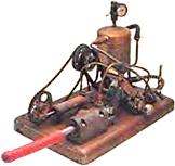 First steam-powered vibrator (1869)