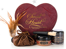 Sweet Heart chocolate box - sensual kit, <%#Customer.Current.Culture.FormatMoney(34.99m)%>