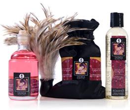 Shunga tenderness and passion collection - sensual kit