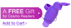 A free gift for Cosmo readers