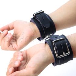 Wrist and ankle cuffs  - Vegan jaguar cuffs - view #1