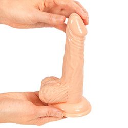 Realistic dildo with suction cup - Real pleasure life like dildo - view #1