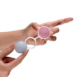 Vaginal balls  - Luna pleasure bead system - view #2