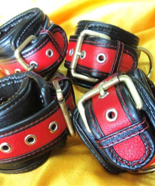 Strict Leather Locking Cuffs