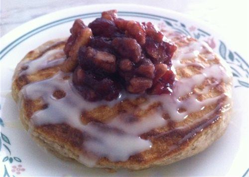 chai spice pancake