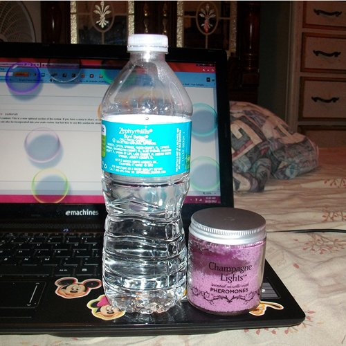 size compared to water bottle