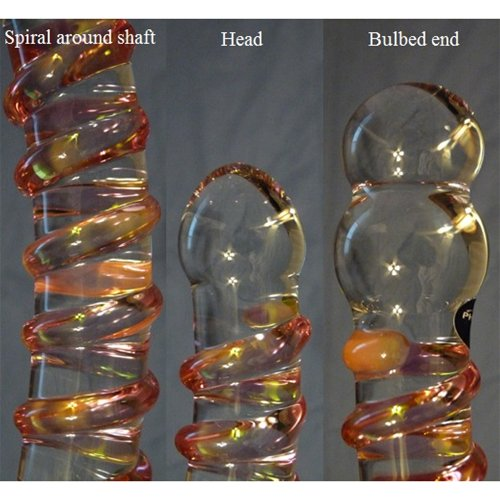 Spiral, head, bulbed end