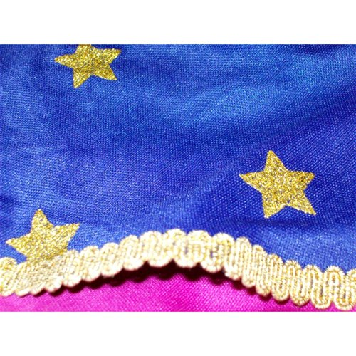 close up of glittery stars and trim