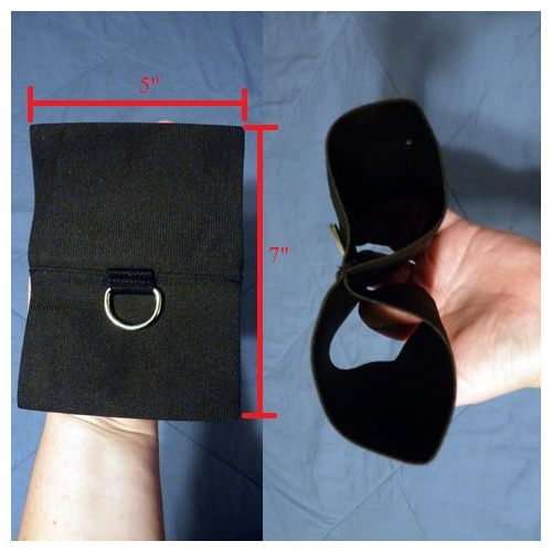 Cuffs-measurements/holes