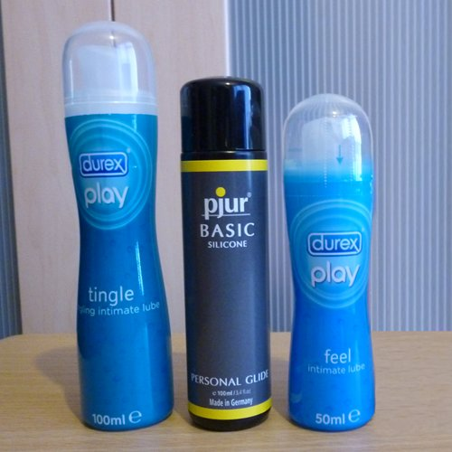 Pjur and Durex