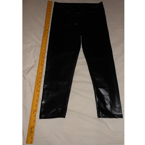 Front of pants (With Yard stick to show length)