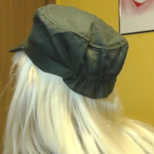 Hat. Back view