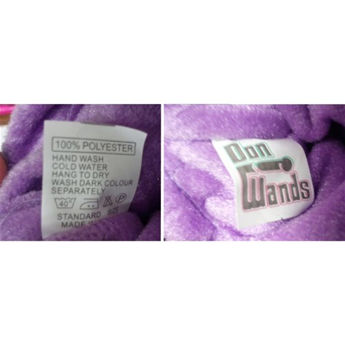 Purple Padded Pouch Tag