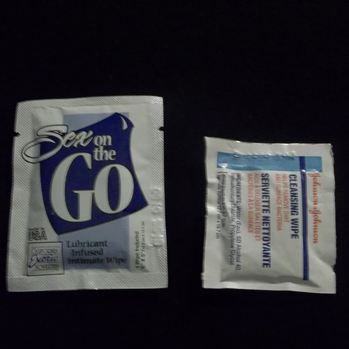 Sex on the Go Wipes comparison