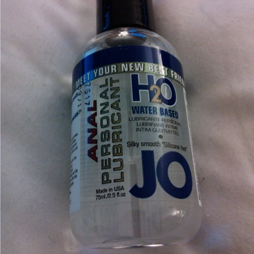 System Jo H2O Anal Lubricant - Anal Lubes  Review By-2308