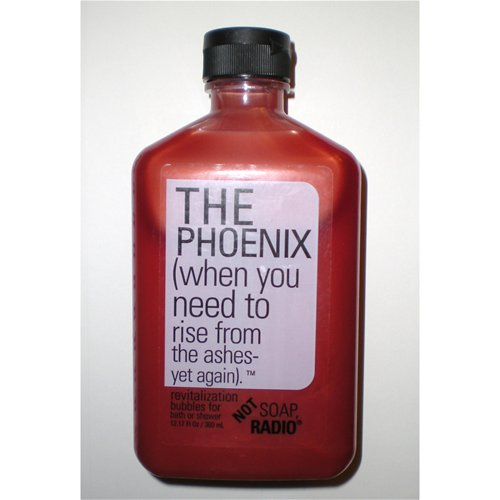 The Phoenix, front of the bottle