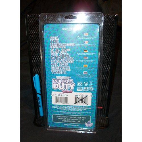 Double Duty in original packaging (back)