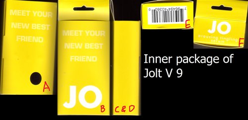 Inner package of Jolt V9