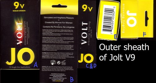 Outer sheath of Jolt V9