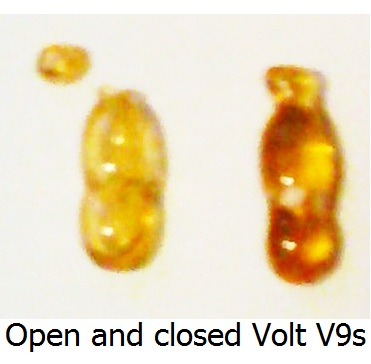 Open and closed Volt V9s