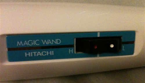 Hitachi Magic Wand Controls