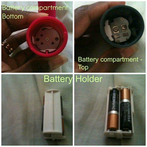 Joy Pad Battery Compartment
