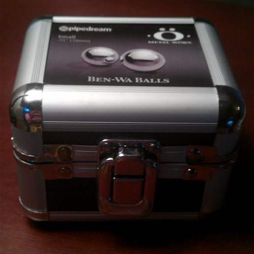Metal Worx Ben-Wa balls packaging