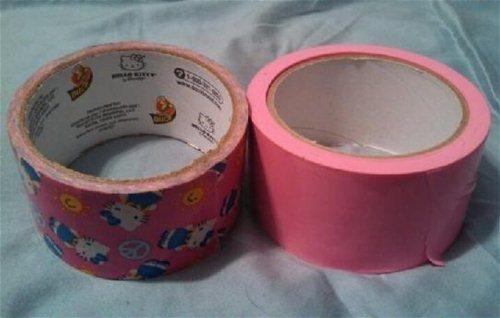 Size comparison w/ Duck Tape
