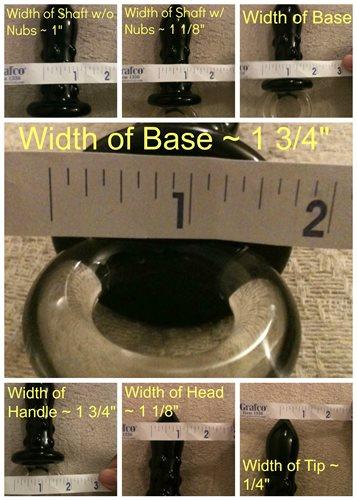 Icicles No. 37 Width Measurements