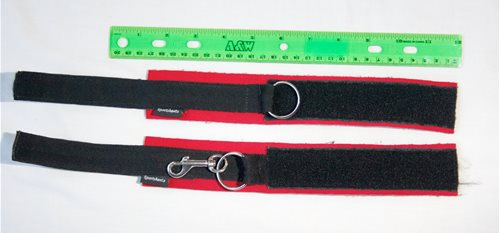 Sportcuffs Dimensions