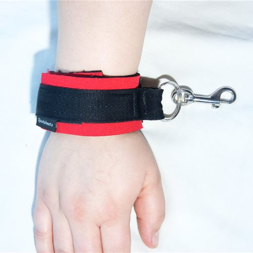 Sportcuffs on Wrist