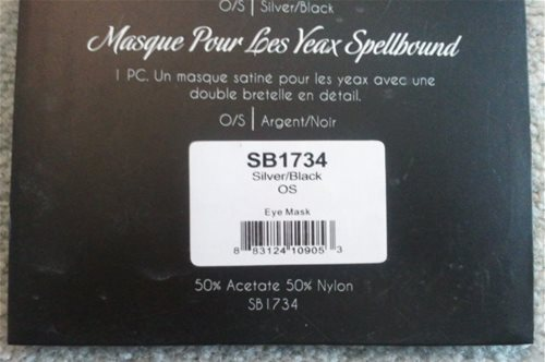 Spellbound Packaging - Back Info