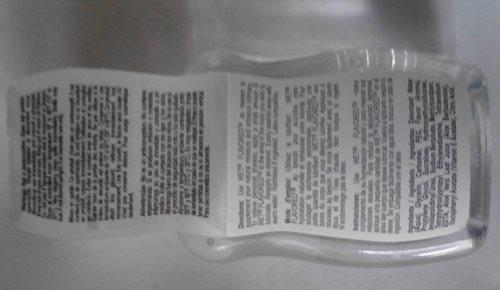 back fold out label