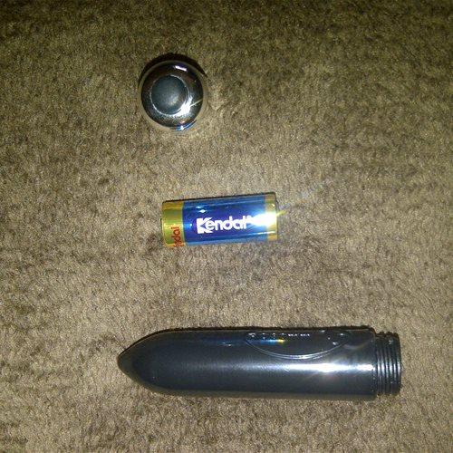 Bullet dismantled